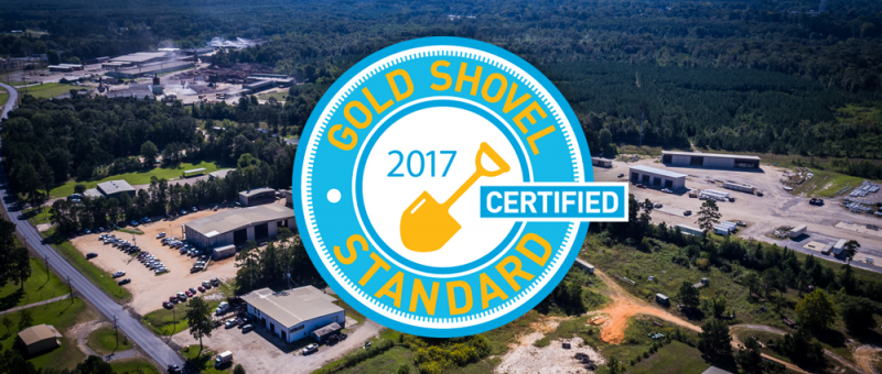 Six C awarded Gold Shovel Standard Certification